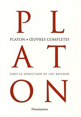 9782081218109: Platon, oeuvres compl�tes