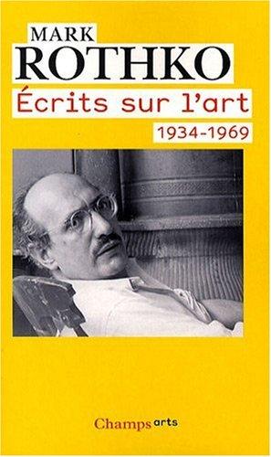 9782081218970: Ecrits sur l'art 1934-1969