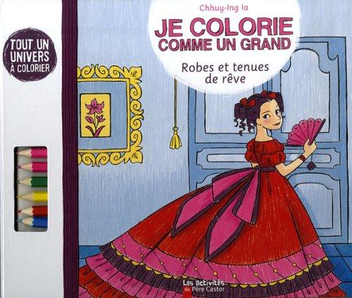 9782081222335: Je colorie comme un grand (French Edition)