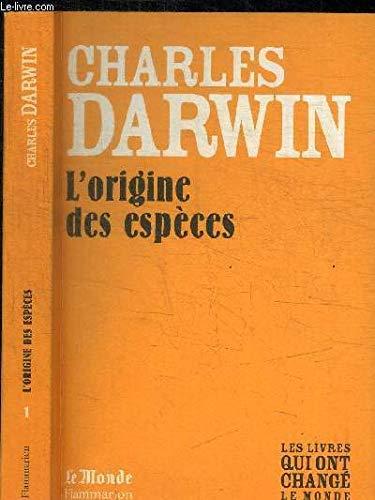 9782081226517: L'Origine des Especes (Monde)