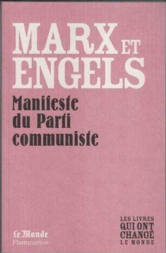 9782081226739: Manifeste du Parti Communiste..(Monde)