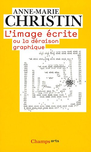 9782081228900: L'image �crite ou la d�raison graphique