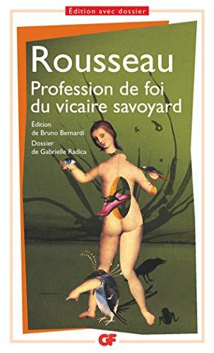 9782081231375: Profession de foi du vicaire savoyard