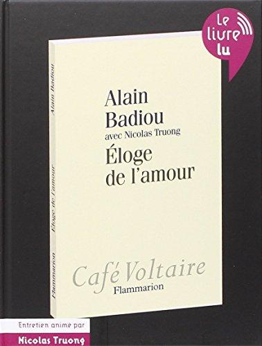 9782081232402: L'eloge de l'amour (audiobook)