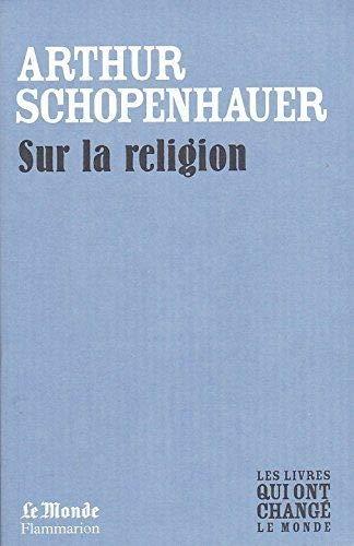 9782081243422: Sur la Religion (Monde)
