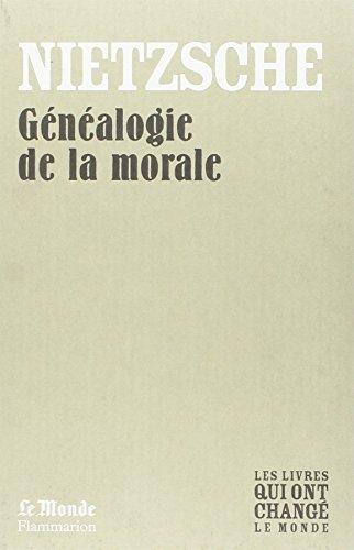généalogie de la morale nietzsche