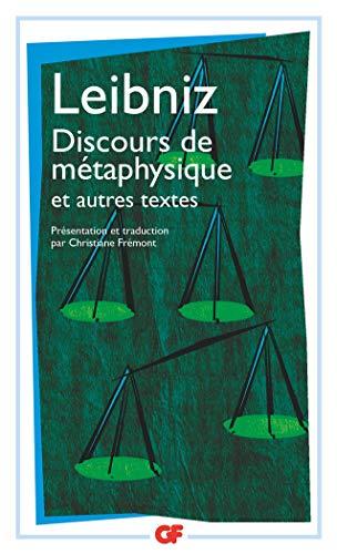 9782081245617: Discours de métaphysique et autres textes (1663-1689)