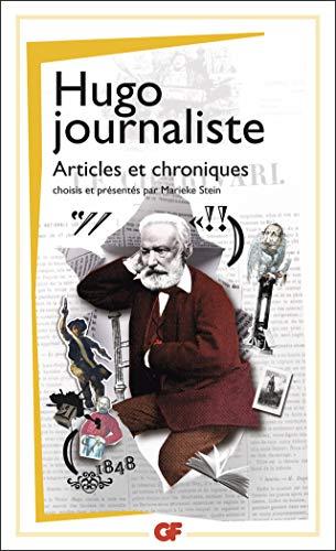 9782081245976: Hugo journaliste : Articles et chroniques
