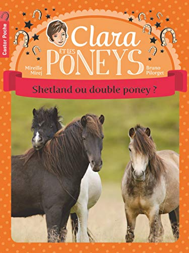 9782081249189: Clara et les poneys, Tome 3 : Shetland ou double poney ?