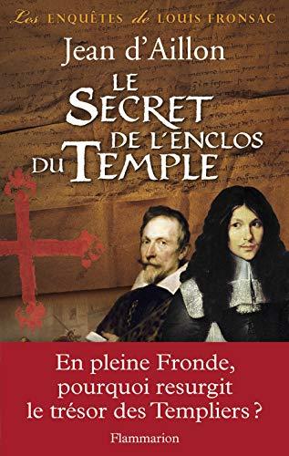 9782081251663: Le Secret de l'enclos du Temple