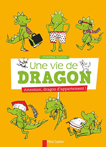 9782081264953: Une vie de dragon, Tome 1 : Attention, dragon d'appartement !