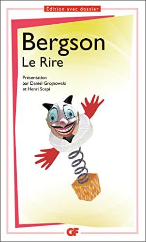 Le rire (GF): Henri Bergson
