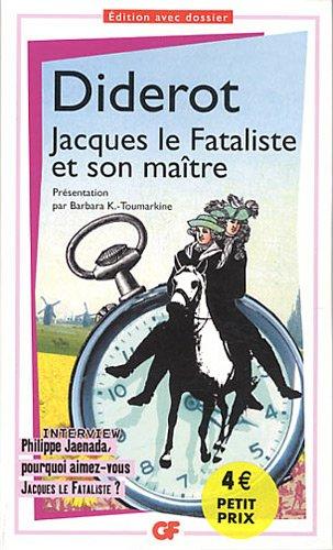 9782081285972: Jacques Le Fataliste et Son Maitre (GF)