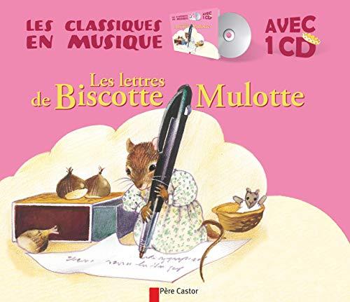 9782081308459: Les lettres de Biscotte Mulotte (1CD audio)