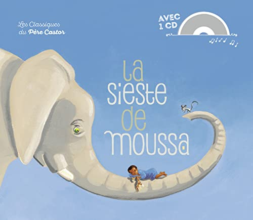 9782081308497: La sieste de Moussa (1CD audio)