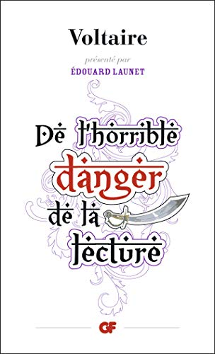 9782081339118: De l'horrible danger de la lecture