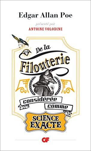 9782081349568: De la filouterie consid�r�e comme science exacte