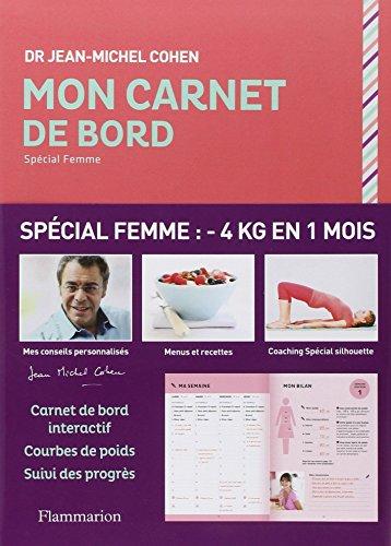 CARNET MINCEUR SPÉCIAL FEMME: COHEN JEAN-MICHEL