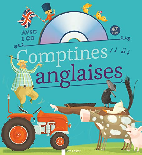 COMPTINES ANGLAISES +CD: BRUNELET MADELEINE