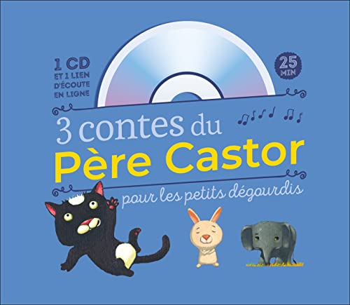 9782081399457: 3 contes du Père Castor pour les petits dégourdis (1CD audio)