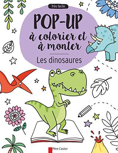9782081419957: Les dinosaures : Pop-up à colorier et à monter