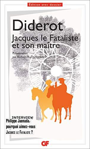 9782081427778: Jacques le Fataliste et son maître (GF)