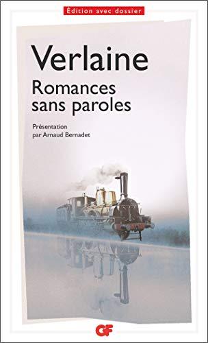 9782081427815: Romances sans paroles (Littérature et civilisation)