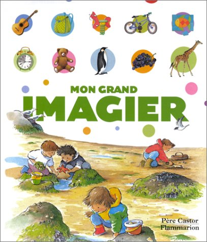 9782081613843: Mon grand imagier (P�re castor)
