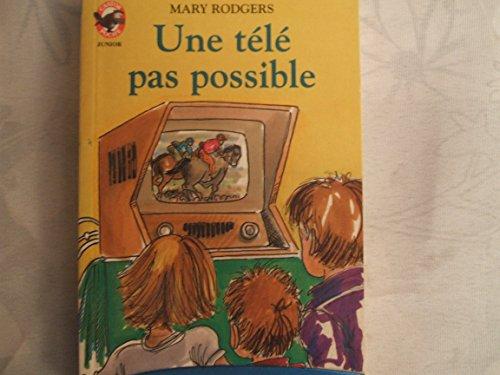 9782081618237: Une Télé pas possible
