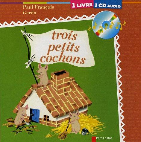 9782081631434: Trois petits cochons (1CD audio)
