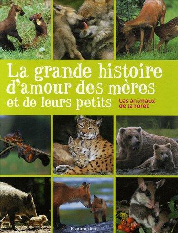 9782081634114: La grande histoire d'amour des mères et de leurs petits : Les animaux de la forêt
