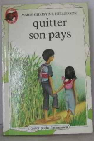 9782081717367: Quitter son pays (Castor poche)