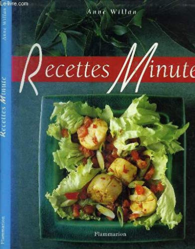 Recettes Minute (1996 Anne Willan) (2082006107) by Anne Willan