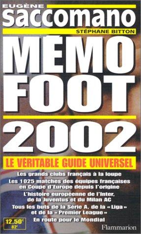 9782082007085: M�mo foot 2002