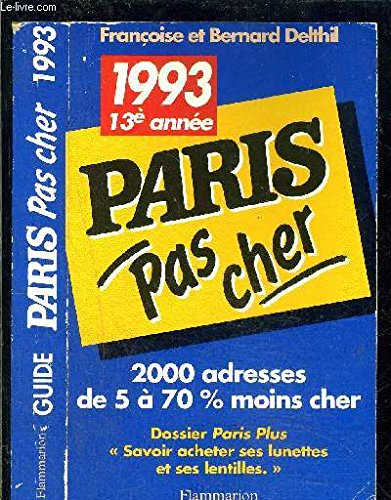 9782082009119: Paris aux meilleurs prix 1995