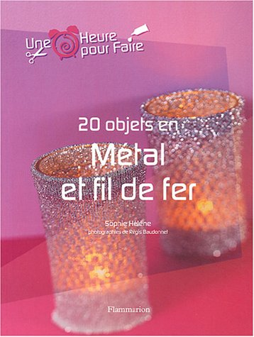 9782082012065: 20 objets en métal et fil de fer