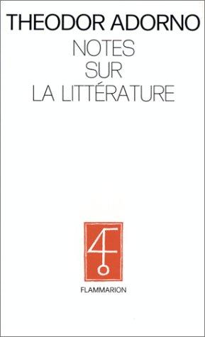 9782082111478: Notes sur la littérature
