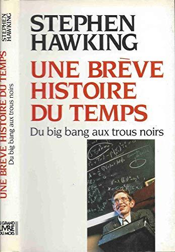 9782082111829: Une brève histoire du temps : Du big bang aux trous noirs