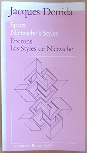 9782082115018: Eperons : Les styles de Nietzsche