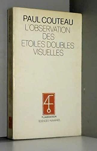 9782082115056: L'observation des étoiles doubles visuelles