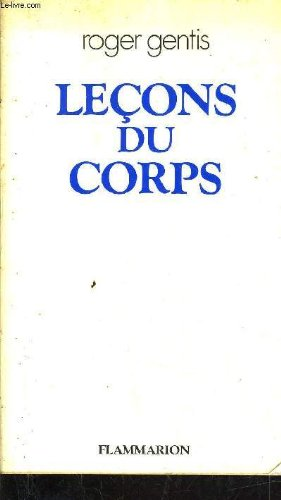 9782082115131: Lecons du corps (French Edition)