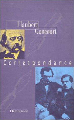 9782082115698: Gustave Flaubert-les Goncourt, correspondance (French Edition)