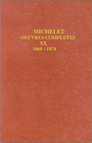 9782082123198: OEUVRES COMPLETES. Tome 20, La Montagne