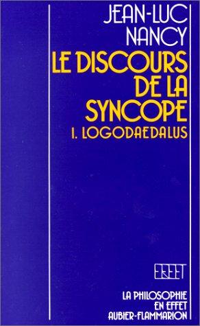 9782082125000: LE DISCOURS DE LA SYNCOPE (Philosophie)