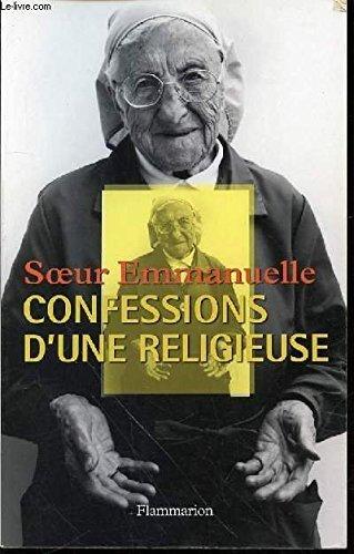 9782082125192: Soeur Emmanuelle : Confessions d'une religieuse