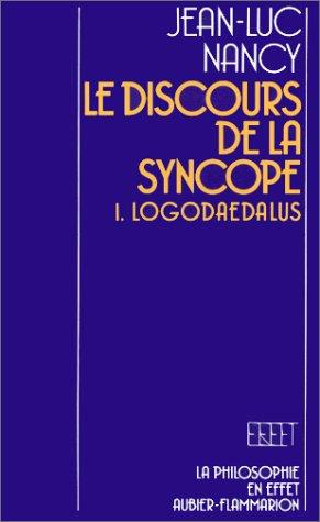 9782082260015: Le discours de la syncope (Philosophie)