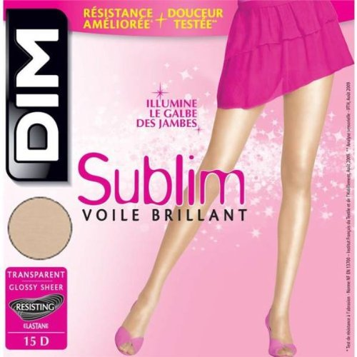 9782089621321: DIM - collant sublim voile brillant CAPRI T1