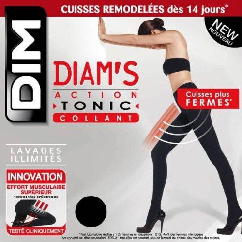 9782089659621: DIM - collant action tonic diam's NOIR T2