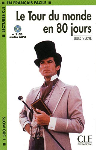 9782090318395: Le Tour du monde en 80 jours : 1 CD Audio MP3