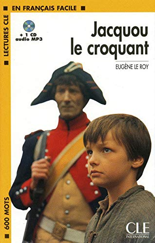 9782090318487: Jacquou Le Croquant Book + MP3 CD (Level 1) (English and French Edition)